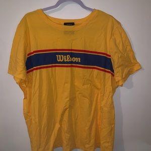 Wilson Brand Yellow T-shirt
